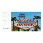 Fabulous Las Vegas - sans wires Photo Card Template