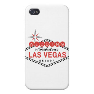 Fabulous Las Vegas Wedding Template Customizable iPhone 4 Case