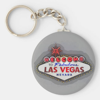 Fabulous Las Vegas Welcome Sign Keychain