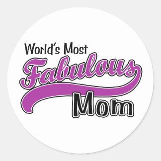 Fabulous Mom Sticker