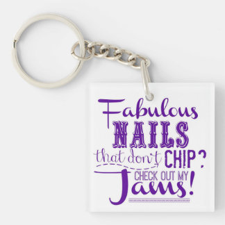 Fabulous Nails Key Chain