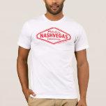Fabulous NASHVEGAS TM Diamond Logo (reversed) T-Shirt