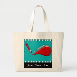 Fabulous Phlebotomist Blood Drop Tote Bag