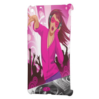 Fabulous Pink Lady DJ iPad Mini Cover