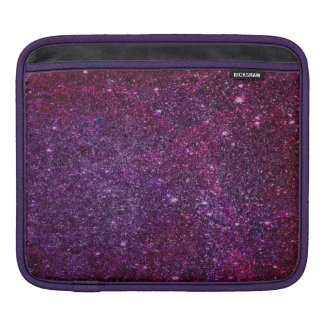 Fabulous purple glitter iPad sleeves