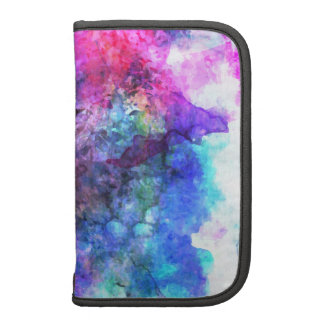 Fabulous Purple Watercolor Abstract Organizers