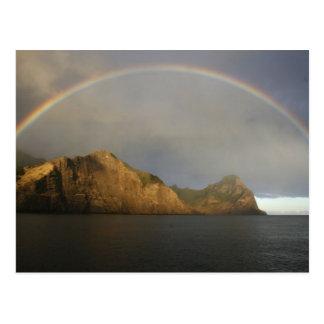 fabulous rainbow in Chile Postcard