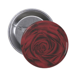 fabulous red rose button/ badge 2 inch round button