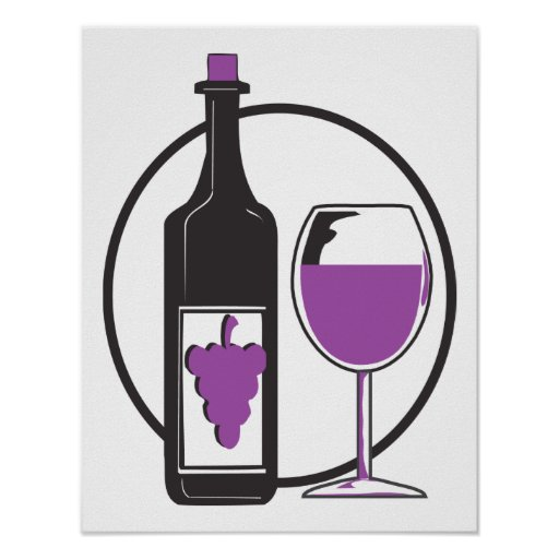 Fabulous Red Wines Poster