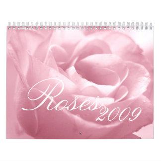 Fabulous Roses 2009 Calendar