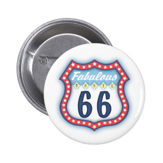 Fabulous Route Sign Pin