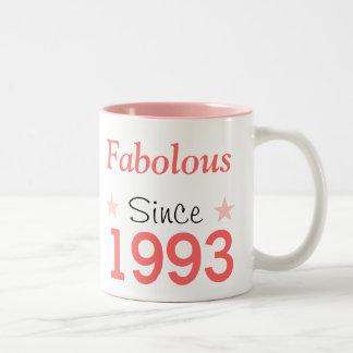 Fabulous Since 1993 Two-Tone Coffee Mug