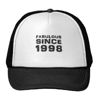Fabulous since 1998 gorras