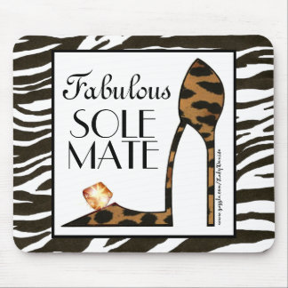 """Fabulous SoleMate"" Mousepad"
