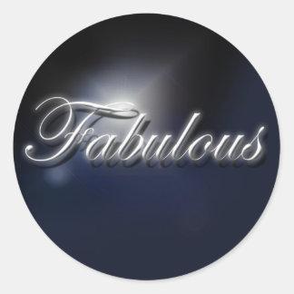 """Fabulous"" stickers"