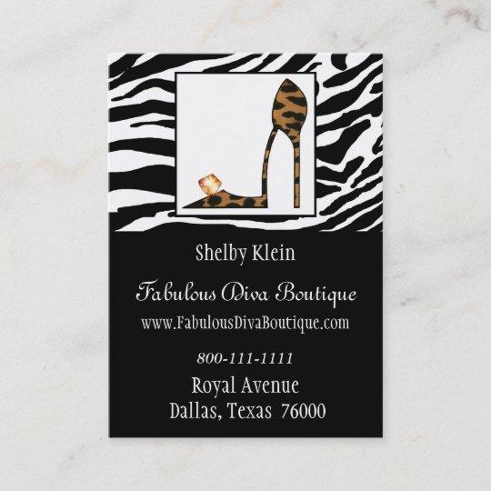 Fabulous stiletto chubby business cards zazzle fabulous stiletto chubby business cards colourmoves