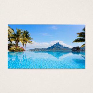 Fabulous tropical seascape business card