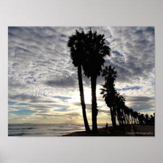 Fabulous Ventura Sunset Poster