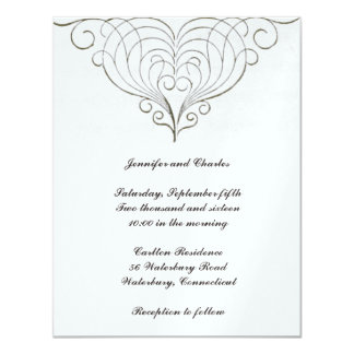 Fabulous Vintage Design Wedding Invitation