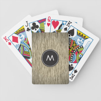 Fabulous Wood 2 Bicycle Playing Cards
