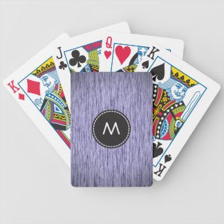 Fabulous Wood 5 Bicycle Playing Cards