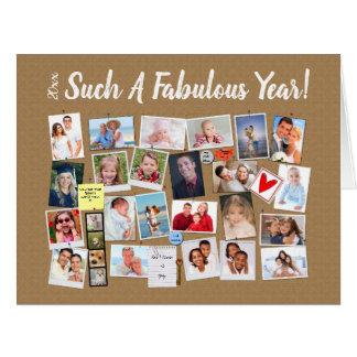 Fabulous Year Make Your Own Photo Cork Board Card