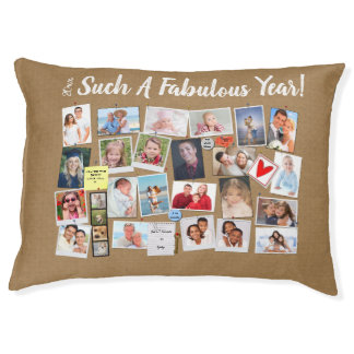 Fabulous Year Make Your Own Photo Cork Board Pet Bed