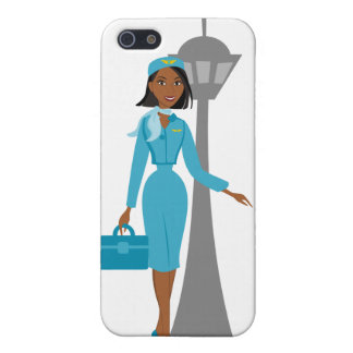Fabulouse Flight Attendant Case For iPhone SE/5/5s