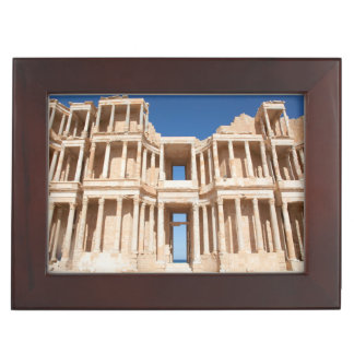 Facade And Stage Of Roman Amphitheater Memory Box