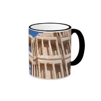 Facade And Stage Of Roman Amphitheater Mugs