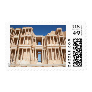 Facade And Stage Of Roman Amphitheater Postage