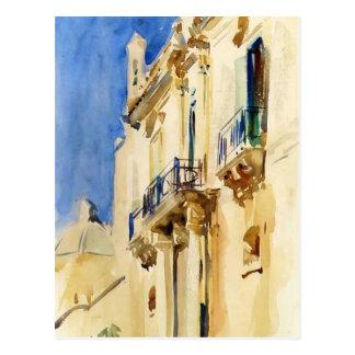 Façade de Palazzo, Girgente, Sicilia de Juan Sarge Tarjetas Postales