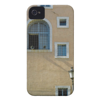 Facade of building in Rome, Italy iPhone 4 Cover