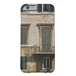 facade of building with a balcony and shuttered barely there iPhone 6 case