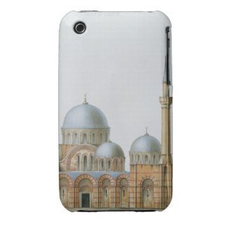 Facade of Kahrije Dzamissi, the Church of the Savi iPhone 3 Covers