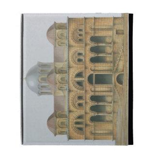 Facade of Mefa Dzamissi, the Church of St. Theodor iPad Folio Cover