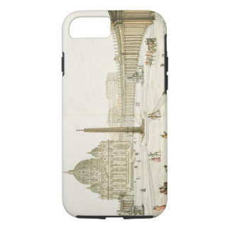 Facade of St. Peter's in Rome with the Piazza in f iPhone 7 Case