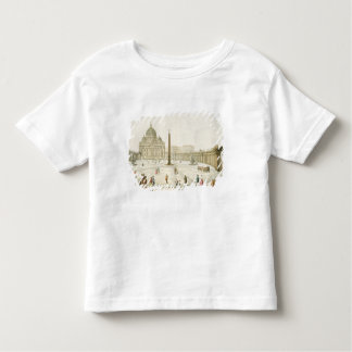Facade of St. Peter's in Rome with the Piazza in f Toddler T-shirt