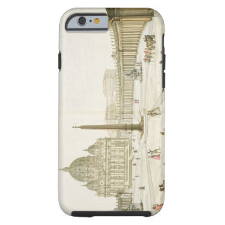 Facade of St. Peter's in Rome with the Piazza in f Tough iPhone 6 Case