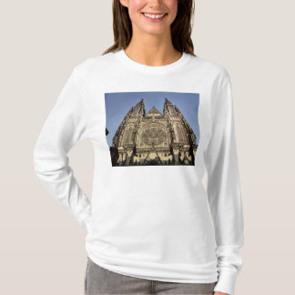 Facade of the Cathedral of St. Vitus T-Shirt