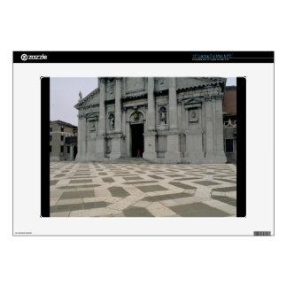 """Facade of the church, built 1564-80, facade done i decal for 15"""" laptop"""