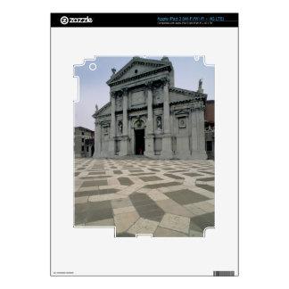 Facade of the church, built 1564-80, facade done i skin for iPad 3