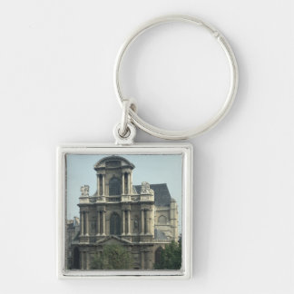 Facade of the Church of Saint-Gervais Keychain