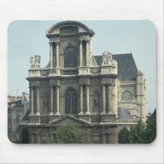 Facade of the Church of Saint-Gervais Mouse Pad