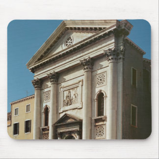 Facade of the Church of Santa Maria della Mouse Pad