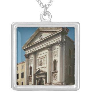 Facade of the Church of Santa Maria della Square Pendant Necklace