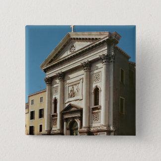 Facade of the Church of Santa Maria della Pinback Button