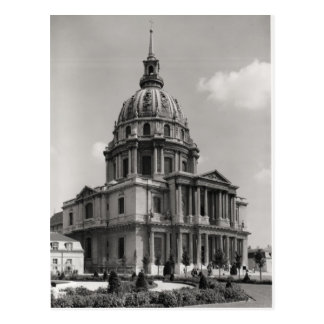Facade of the Church of St. Louis Postcard