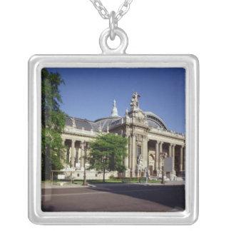 Facade of the Grand Palais Square Pendant Necklace