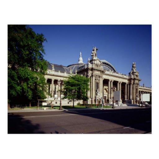 Facade of the Grand Palais Post Cards